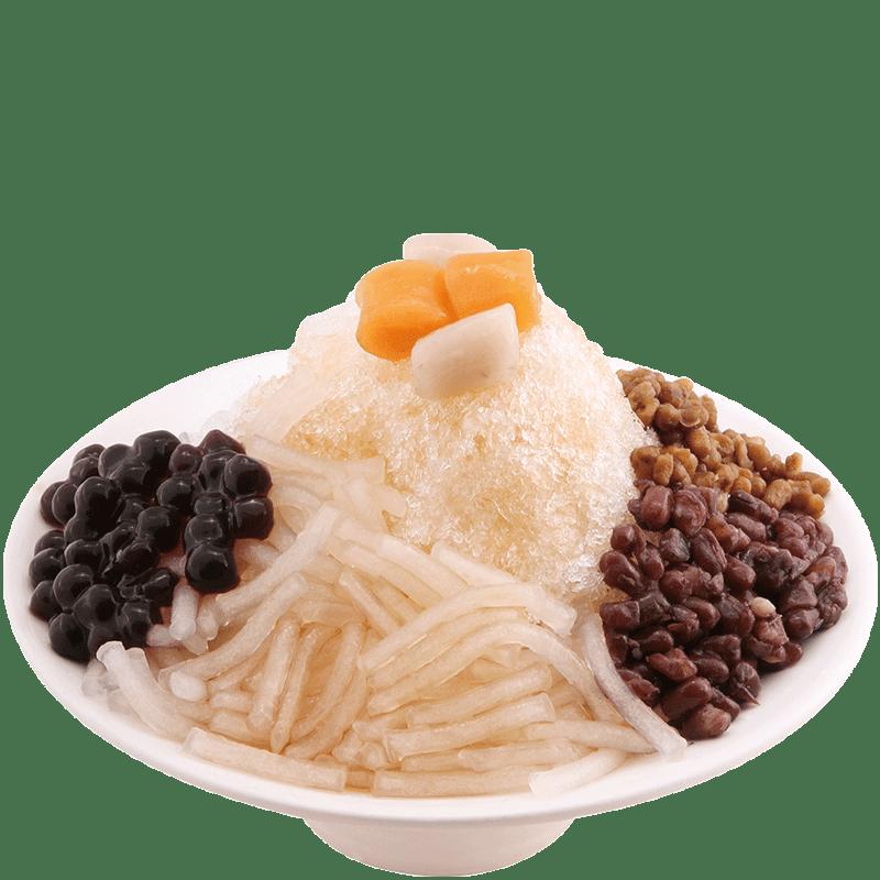 鮮芋仙粉條冰-清涼冰品
