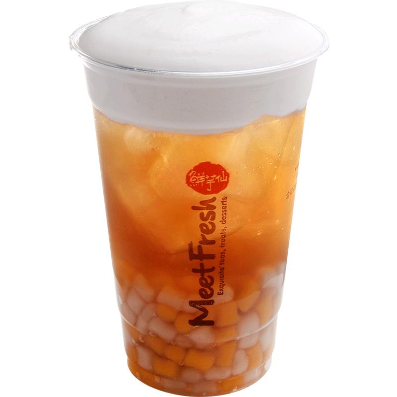 小芋圓冬瓜鮮奶霜-奶霜系列