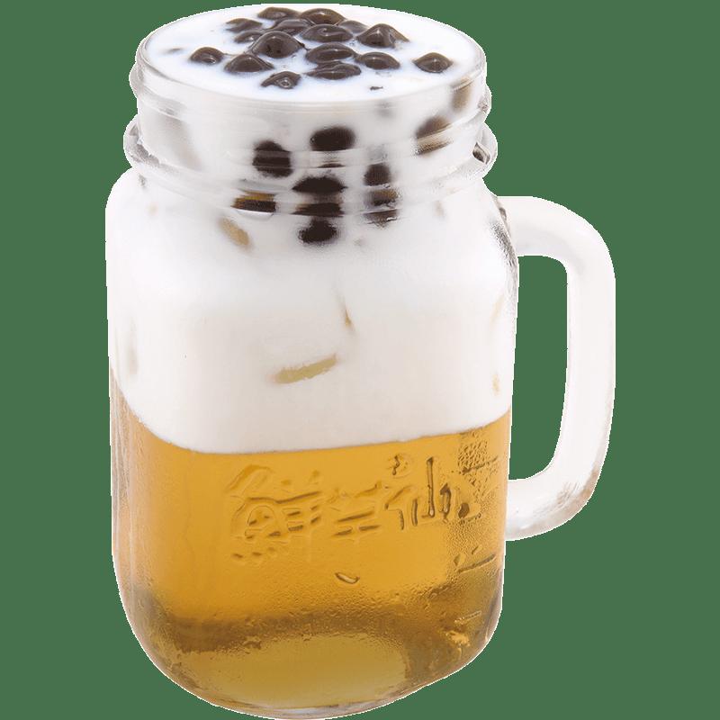 珍珠綠茶拿鐵-飲品系列
