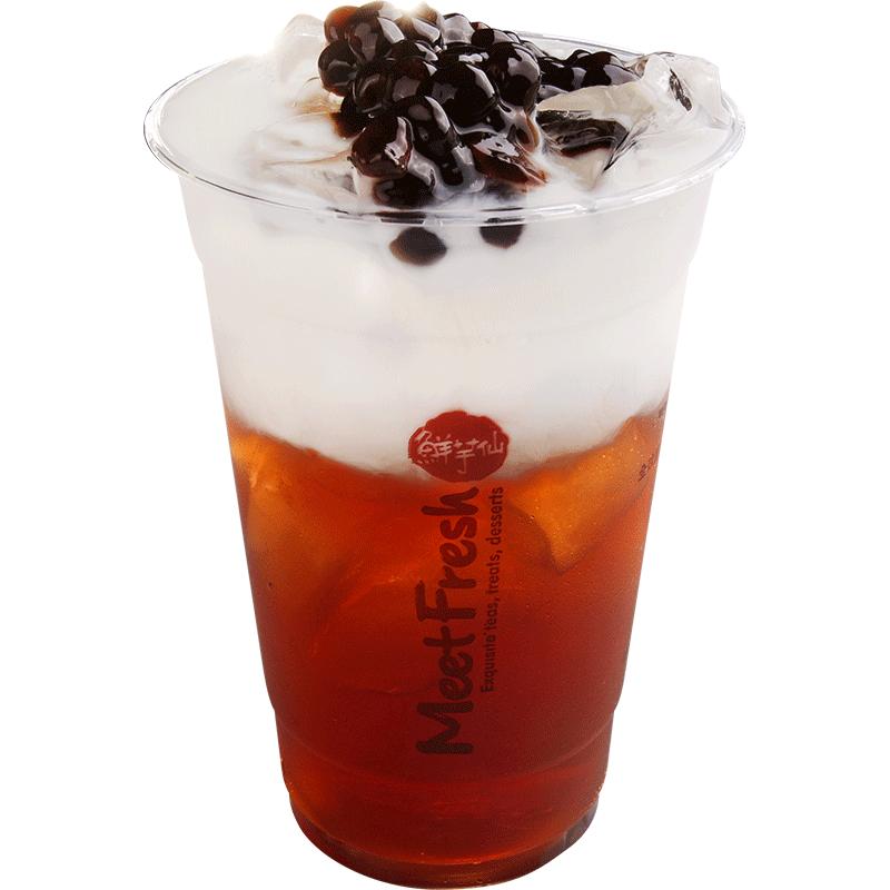 珍珠茶王鮮奶茶-飲品系列