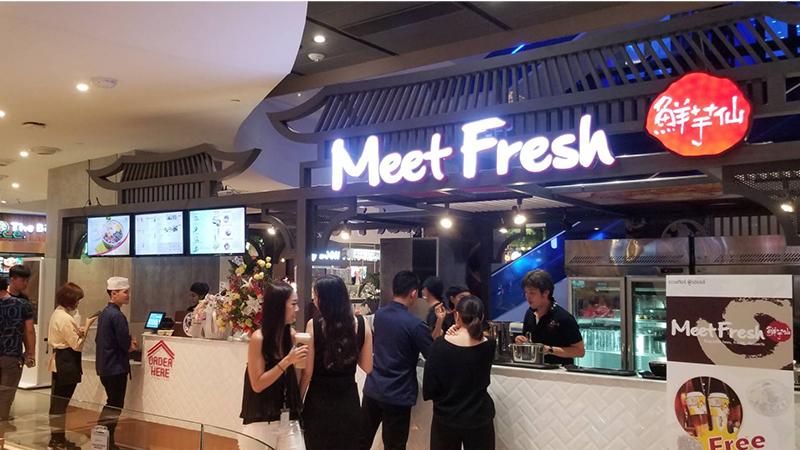 泰國店今天正式開幕!