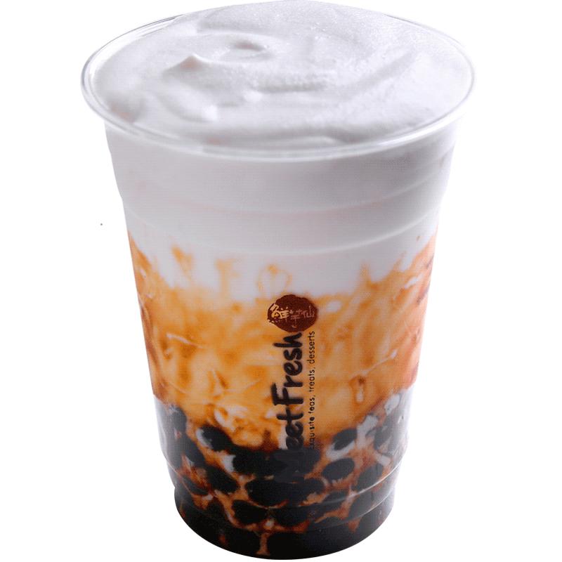 黑糖珍珠鮮奶霜-奶霜系列