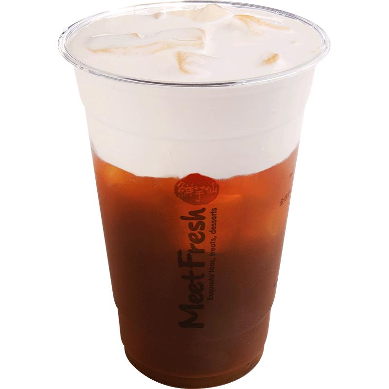 寶島茶王鮮奶霜-奶霜系列