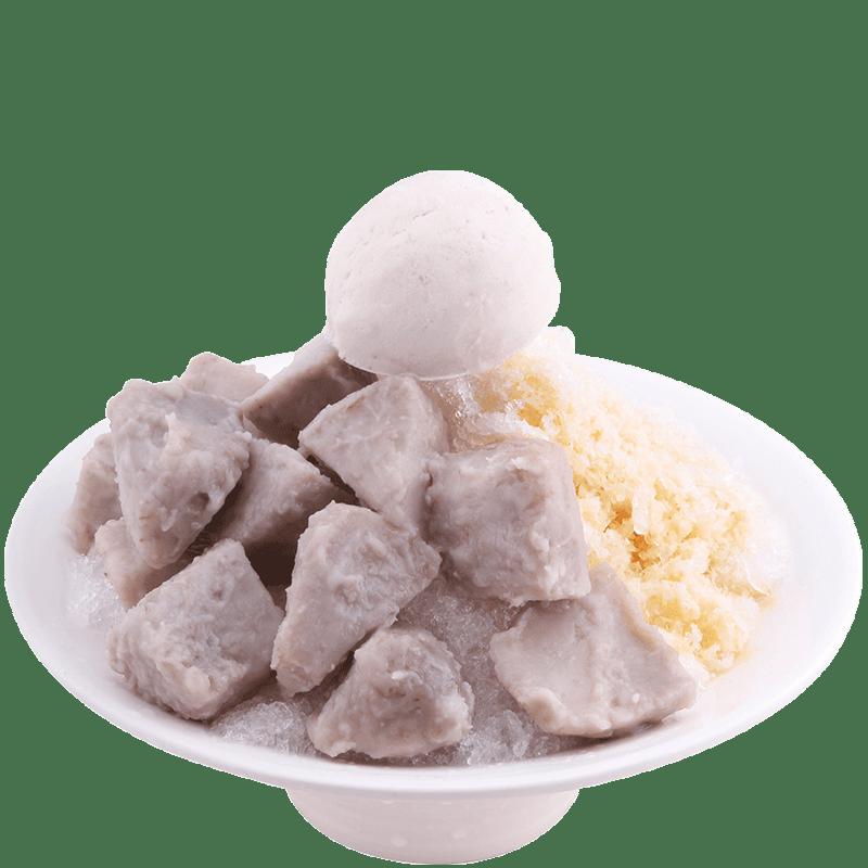 芋頭牛奶冰-清涼冰品